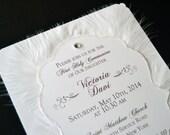 10 More Heaven Sent White Feather Invitations