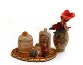 Miniature Perfume Vanity set 14
