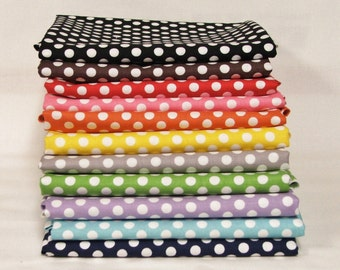 Riley Blake Small Dots bundle - 11 Half yards