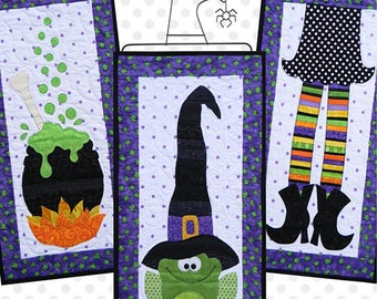 Witches Brew, Seasonal Skinnies by Ribbon Candy Quilt (RCQ 552)