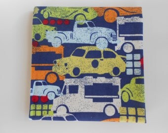 Car/Truck Flannel Receiving Blanket for Baby (29.50  x 31 inches)