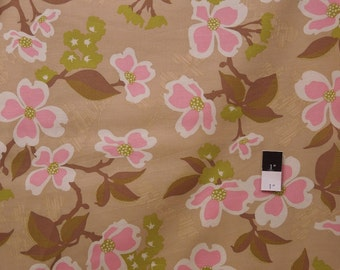Joel Dewberry JD31 Modern Meadow Dogwood Bloom Pink Cotton Fabric 1 Yard