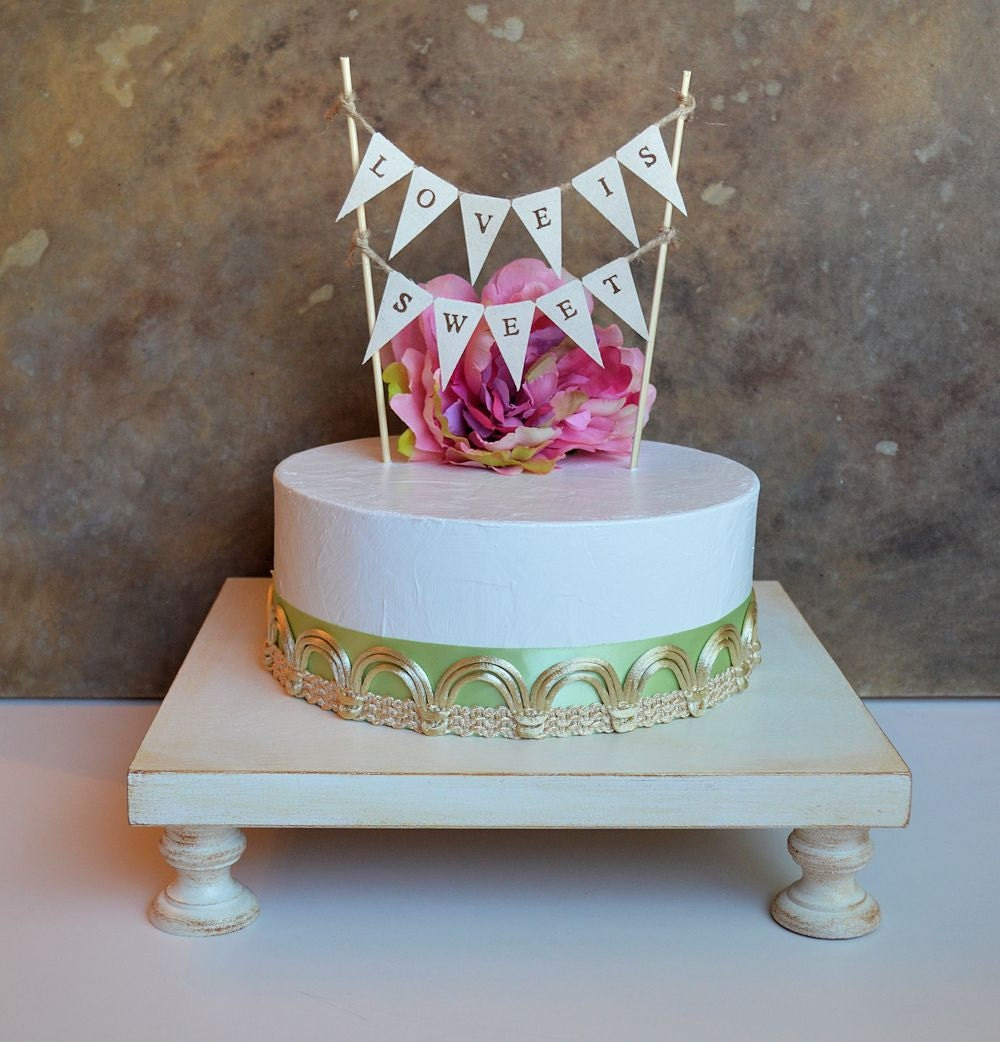 Wedding Cake Stand Cake Pedestal Cupcake Stand By SkyeArt