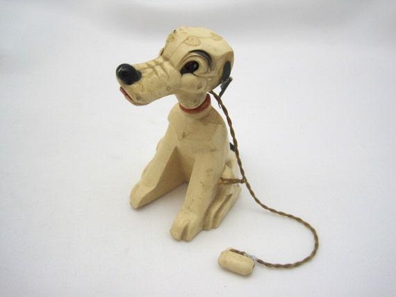 Vintage Toy Dog Magnetic Toy