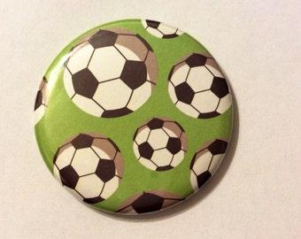 Pocket Mirror - CUTE Soccer Balls