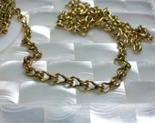 SALE 1 Foot Chain Open Link Steampunk Ladder Chain Antiqued Gold plated Brass watch jewelry chain Jewelry/Jewellery/Craft supplies