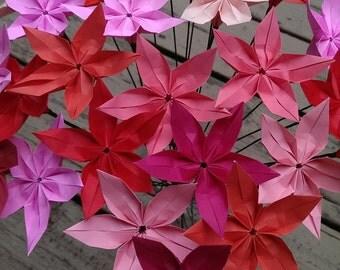 Origami blossoms