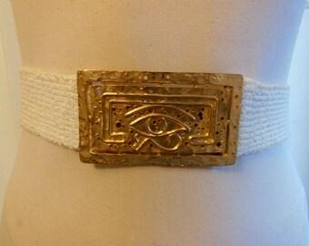 st john belt / Eye of Gold Vintage 1970's St John 70s Belt