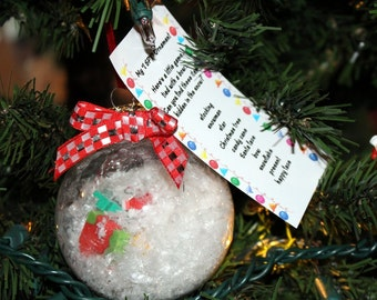 I SPY ornament Christmas child gift toy Large