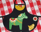 Dala Horse Bottle Apron from The Farmer's Daughter