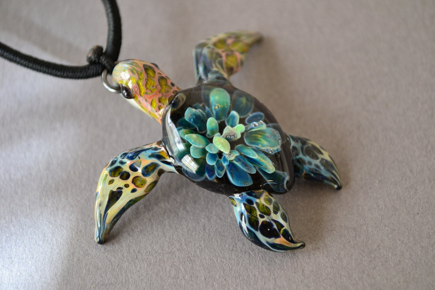 Beaded Turquoise Sea Turtle and Shell Beach Anklet - Bits ...  |Turquoise Sea Turtle