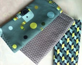 Set of 3 Modern Cotton Burp cloths
