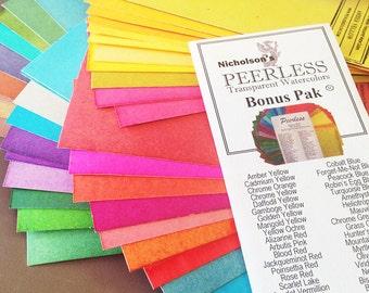 Peerless Watercolors Bonus Pack