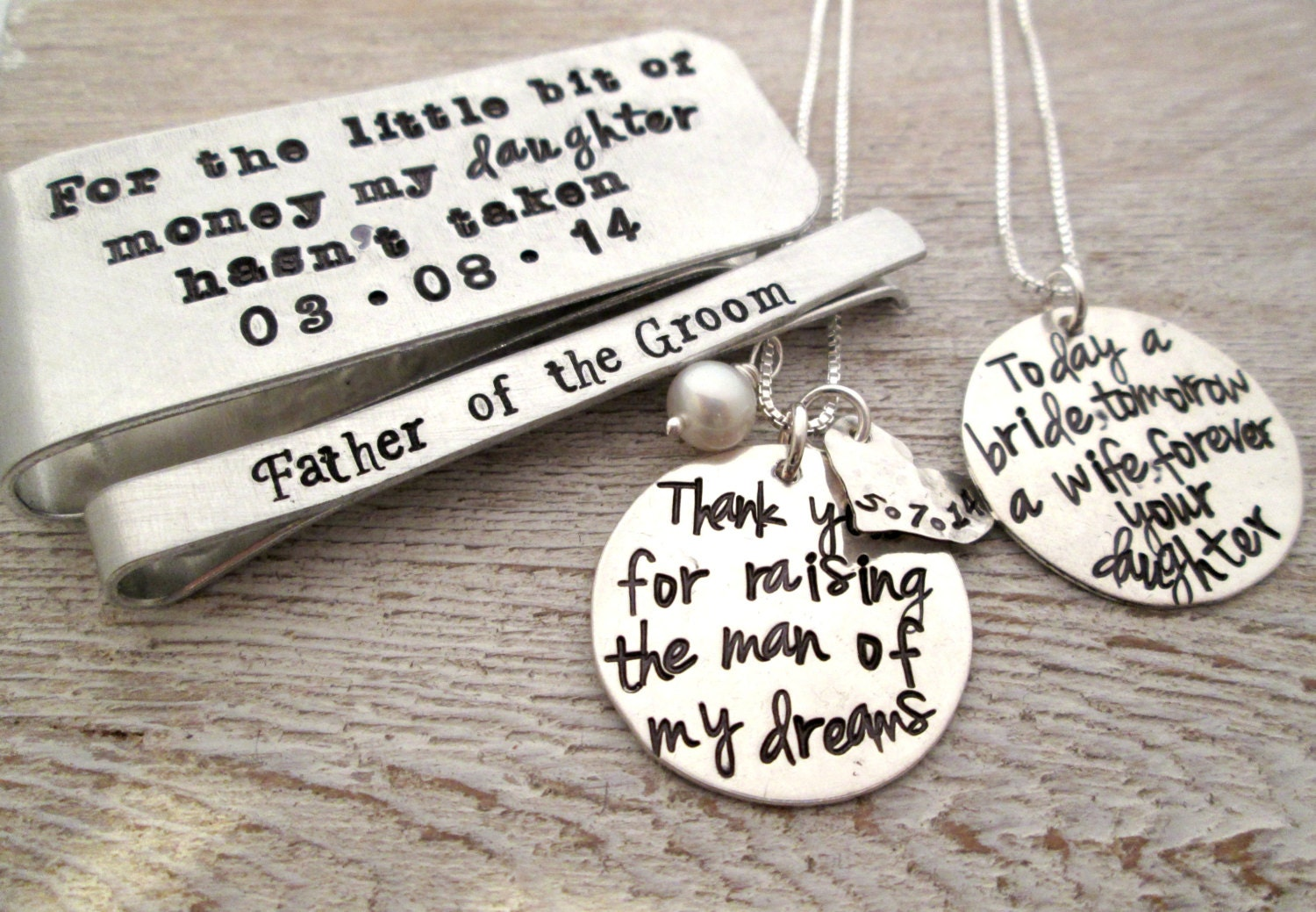 personalized wedding gifts for parents of the bride and groom