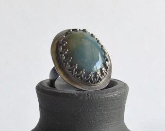 Fancy Jasper Statement Ring - Size 5 - Stone Ring