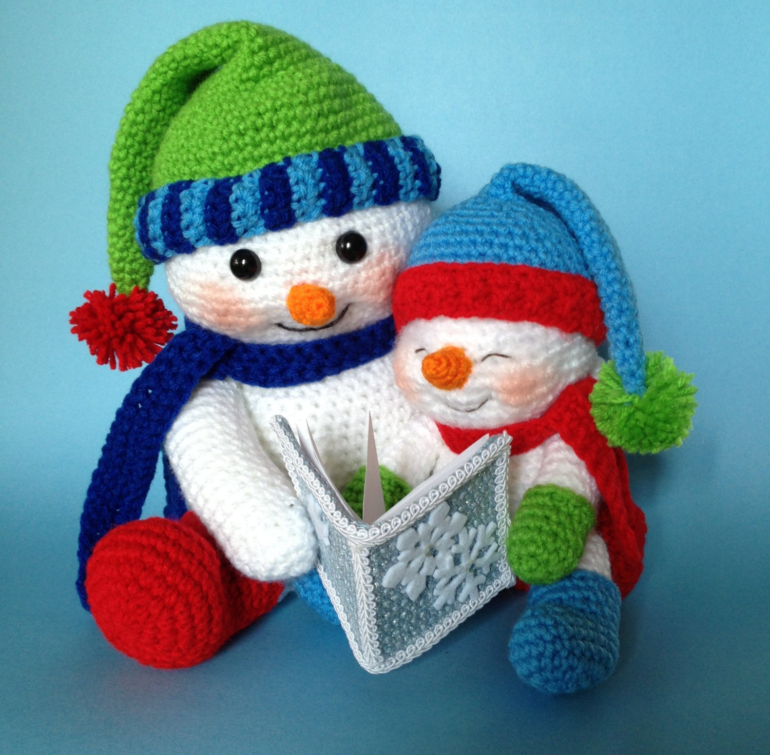 Worksheet Snowman Reading pdf crochet pattern for reading snowman english only