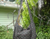 Boho Sling- Dotted Tapestry- Extra large bag