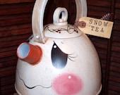 Snowman Teapot Pattern