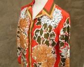 Vintage Vera Neumann Summer Into Fall Blouse
