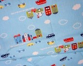 ON  SALE Japanese Fabric Town Print   (HAKO16A)