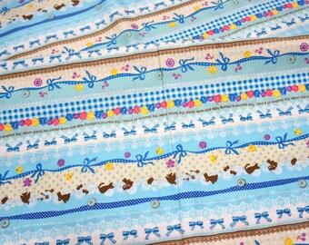 Kawaii Print Japanese fabric Half meter   (n221)