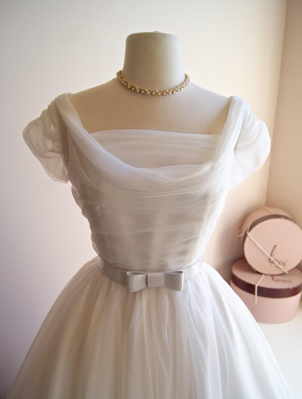 1950s Style Wedding Dress ~ Xtabay Exclusive 50s Wedding Dress ~ 1950s Tea Length Wedding Dress