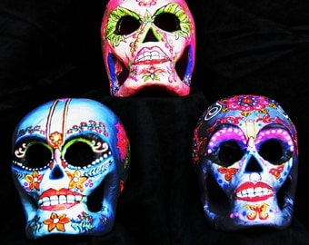Day of the Dead Skulls Beauties Set