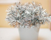60 Gold or Silver Tinsel Drink Stirrers