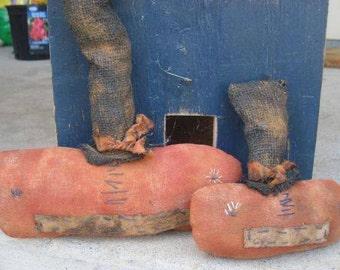 Extreme Primitive Pumpkin Cupboard Tuck Set - Halloween - Hafair Team