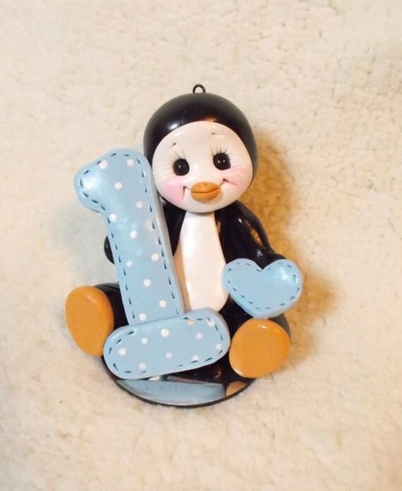 Penguin Cake Topper Penguin