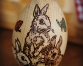 3 Bunny egg- Made to order