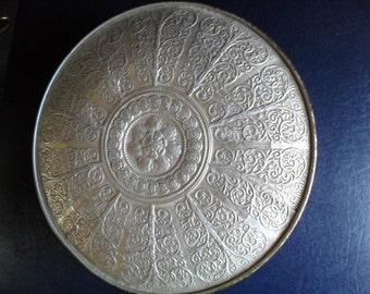 Vintage Victorian Silver tin by Guildcraft Chicago