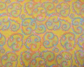 Brandon Mably's Cosmos in Gold Cotton Fabric PWBM030