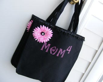 Mom's New Black Tote