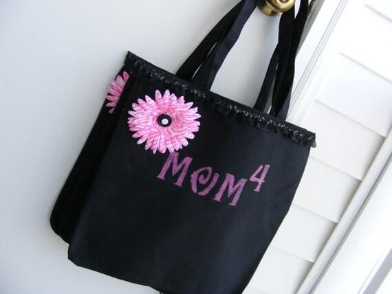 Mom's New Black Tote