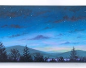 For Avena-Lyn only please, Special commission Night sky /9 painting