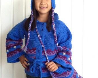 Icelandic Ensemble Crochet Pattern PDF