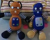 Toy Robot! Blue, orange, or gray!