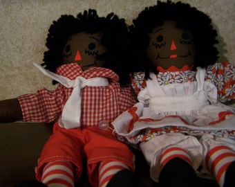 "10"" raggedy ann and andy"