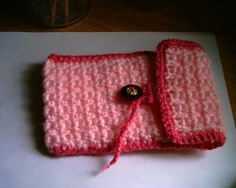 Handmade Pink Tarot Card Case Number 2