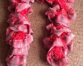 Fantastic We've Gone To Plaid French Ruffle scarf  Beautiful