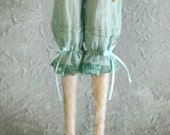 jiajiadoll - blue bowknots laced shorts pants fit momoko or blythe or misaki