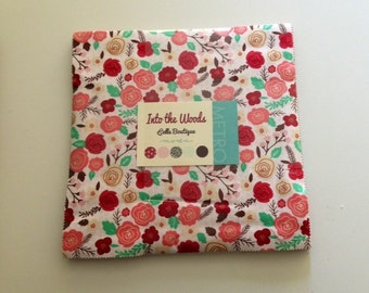 SALE.  Into the Woods by Vanessa Goertzen of Lella Boutique Layer Cake