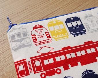 Shinkansen Mini Zipper Pouch