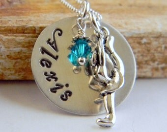 Personalized Skater Necklace, Figure Skater, Ice Skating, Roller Skating, Personalized Gifts, By RosesDesigns