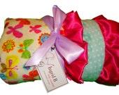 Butterfly Minky Blanket