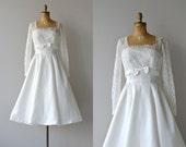 Jeanette wedding dress | vintage 50s wedding dress • 1950s wedding dress