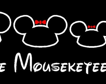 Disney Family Car Decal Etsy - Custom car stickers and decals