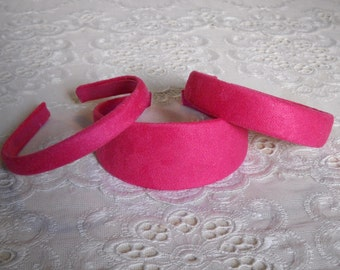 Classic Chic Faux Suede Headband in 3 Sizes and 11 Colors