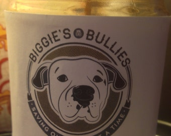 Biggies Bullies Handcrafted 12 oz Soy Candle